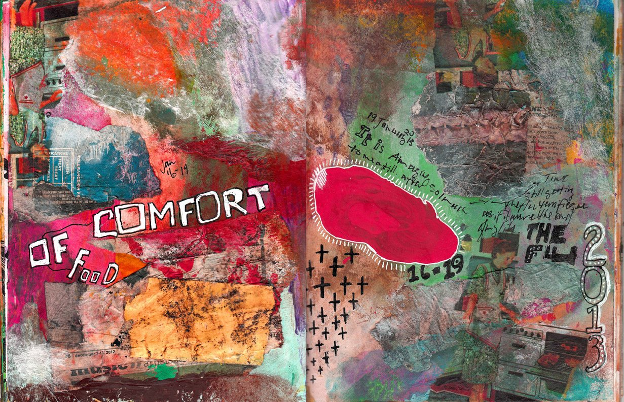 Spread 0117 - Comfort of - 72
