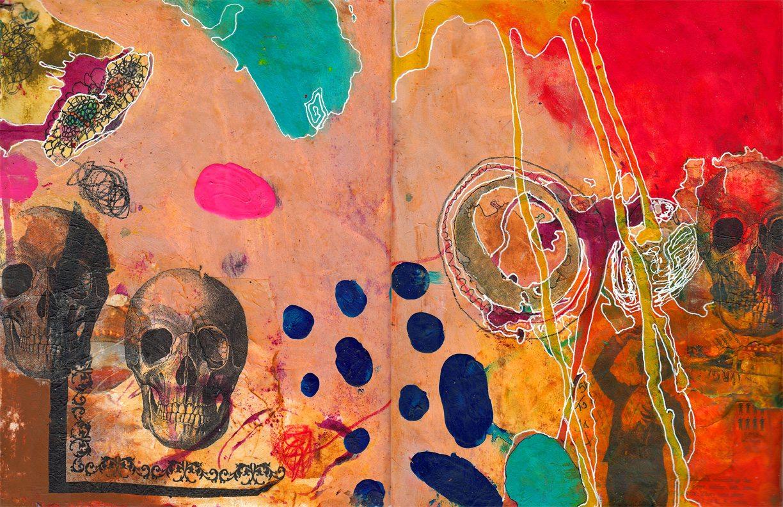 Spread 170 - Skulls - 72
